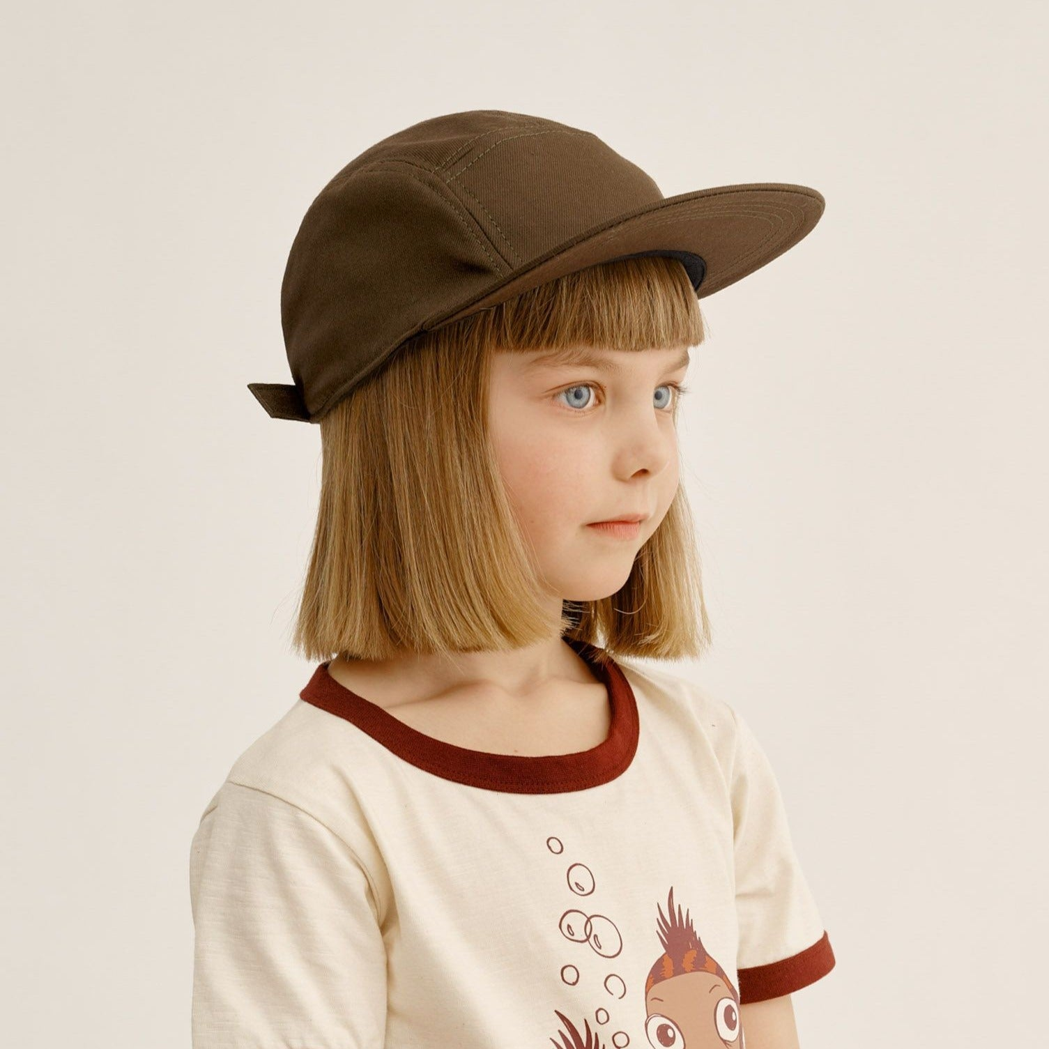 Mainio 5-panel lippis, brown