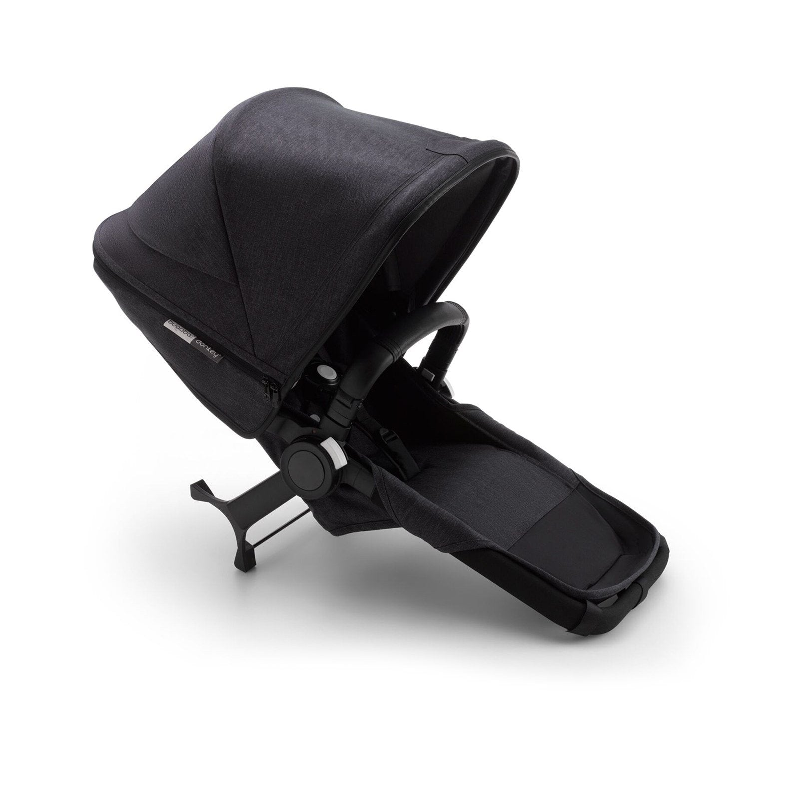 Bugaboo Donkey3 Mineral collection duo laajennus, black/washed black