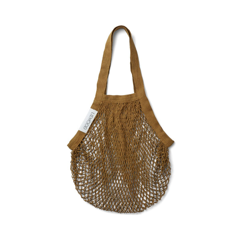 Liewood mesh tote kassi, olive green