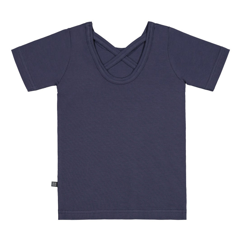 Kaiko cross tee, indigo