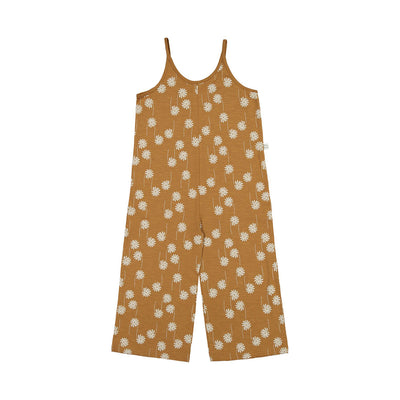 Mainio flower power one piece haalari, bone brown