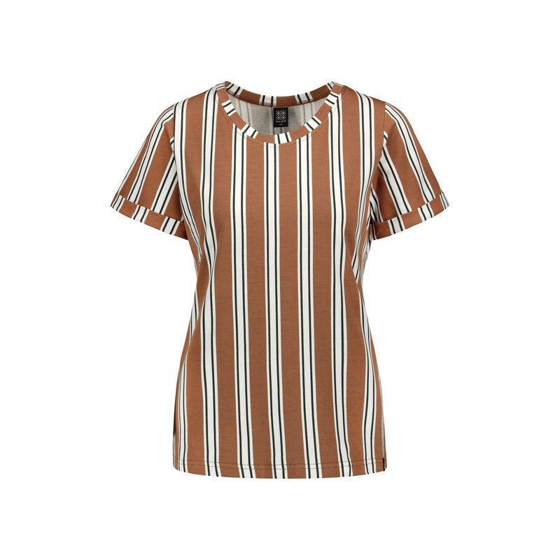Kaiko naisten everyday tee, hazel stripe