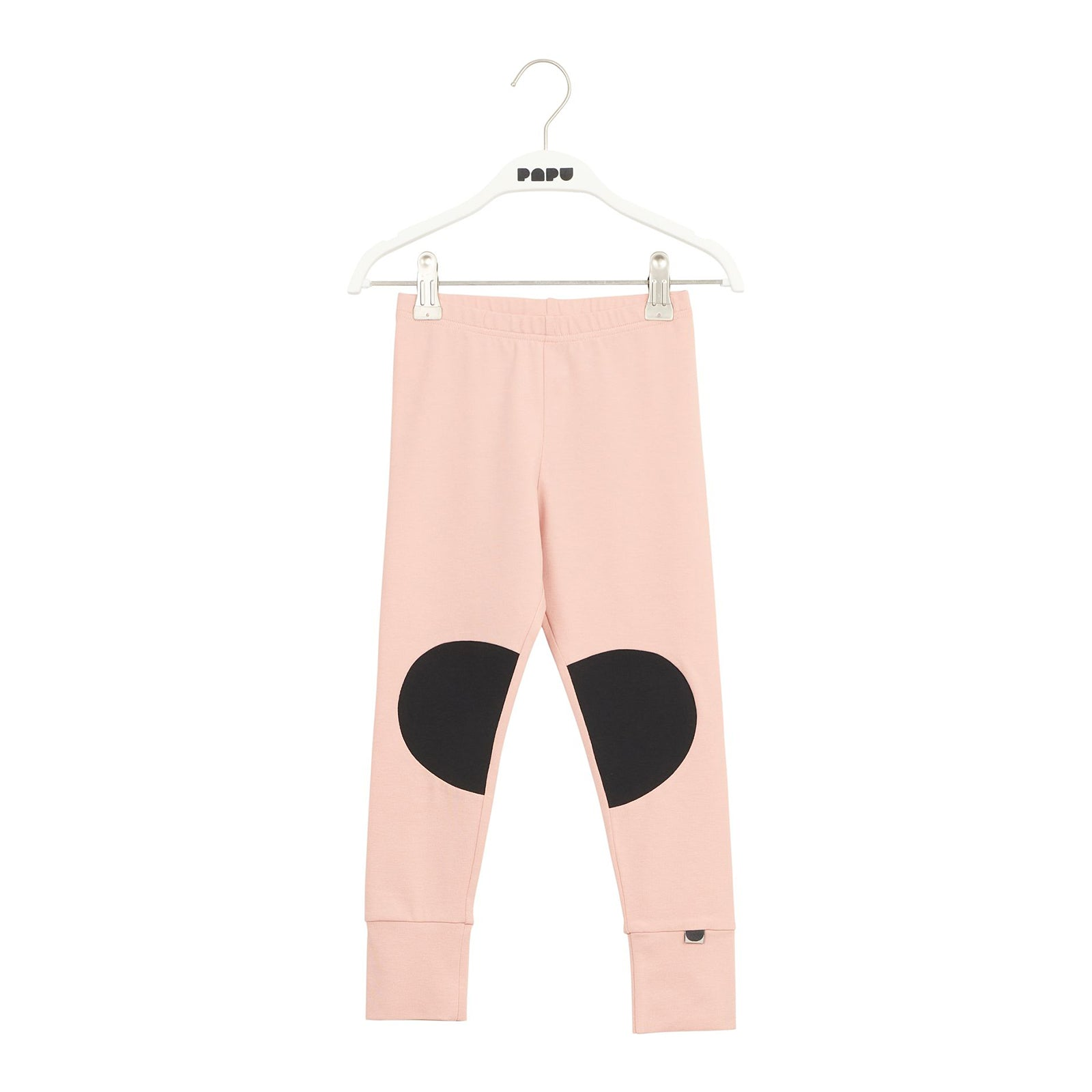 Papu paikka leggarit, dusty pink/black