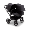 Bugaboo Donkey3 Duo Mineral collection complete, black/washed black