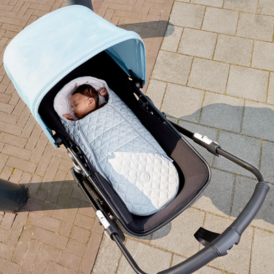 Bugaboo newborn lämpöpussi, light grey melange