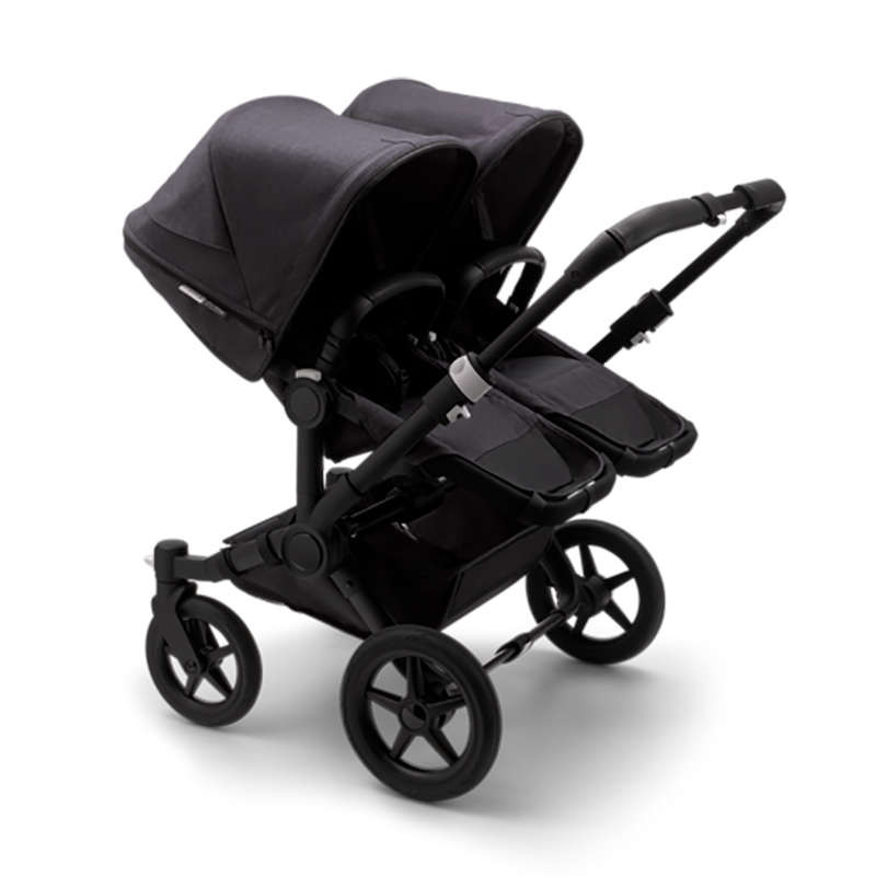 Bugaboo Donkey3 Twin Mineral collection complete, black/washed black