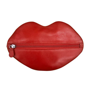 Leather Lip Service Pouch