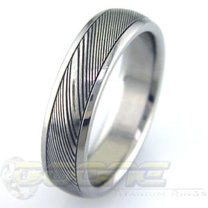 Damascus Steel Inlay