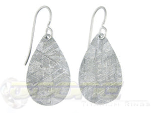 meteorite drop earrings
