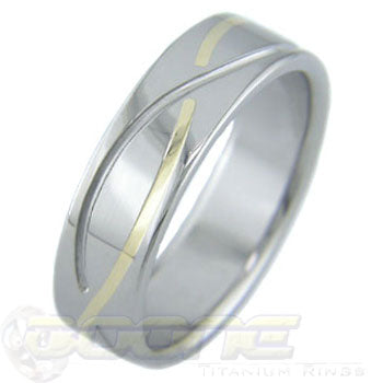 Infinity Gold Inlay