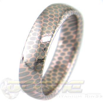 SuperConductor Dome Ring in 6mm Width