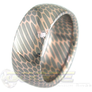 SuperConductor Dome Ring in 9mm Width