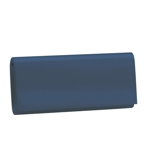 Shadow Navy Satin - wedding/evening clutch bag - NZ