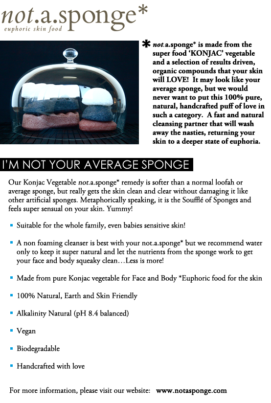 Not.A.Sponge - 100% Organic Facial & Body Sponges