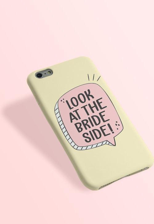 Brides Side Phone Cover