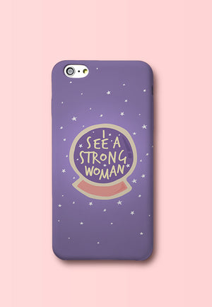 Strong Woman Phone Cover
