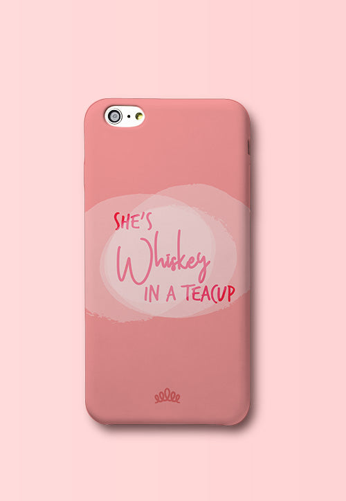 Whiskey in Teacup Phone Cover