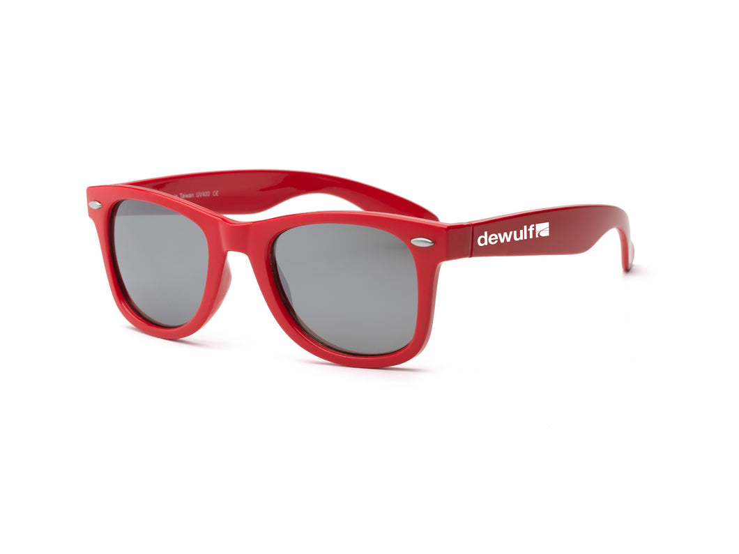 Dewulf red sunglasses