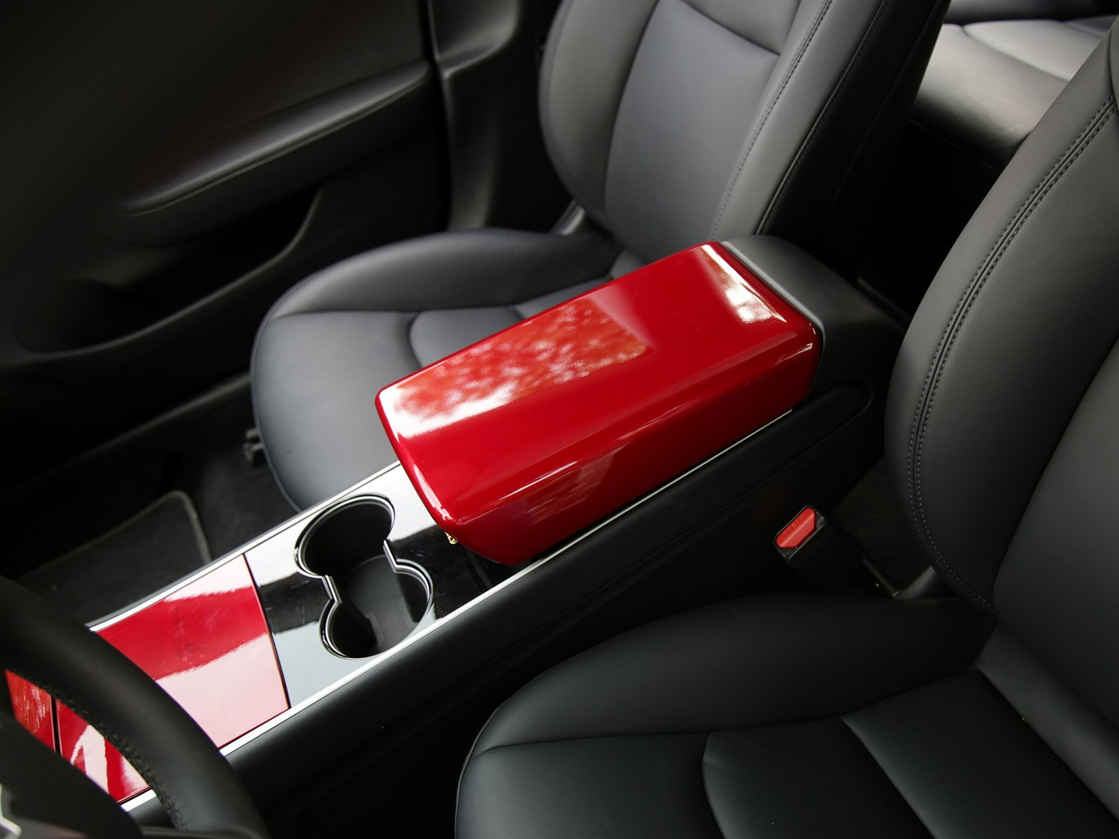 Model 3: Arm Rest Cover (ABS+Coating) - Torque Alliance