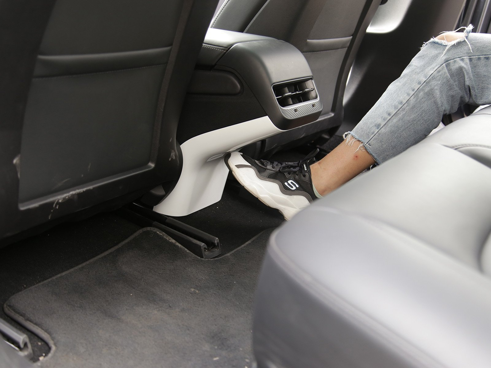 Model 3: Back Seat AirCO Stand Protection Trim (ABS+Coating) - Torque Alliance