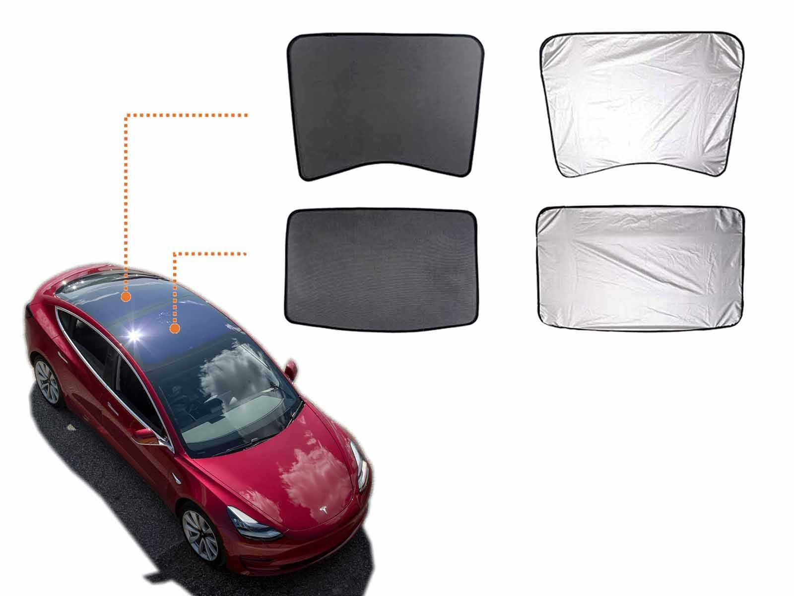 Model 3: Dual-layer Sunshade for Solar Roof - Torque Alliance