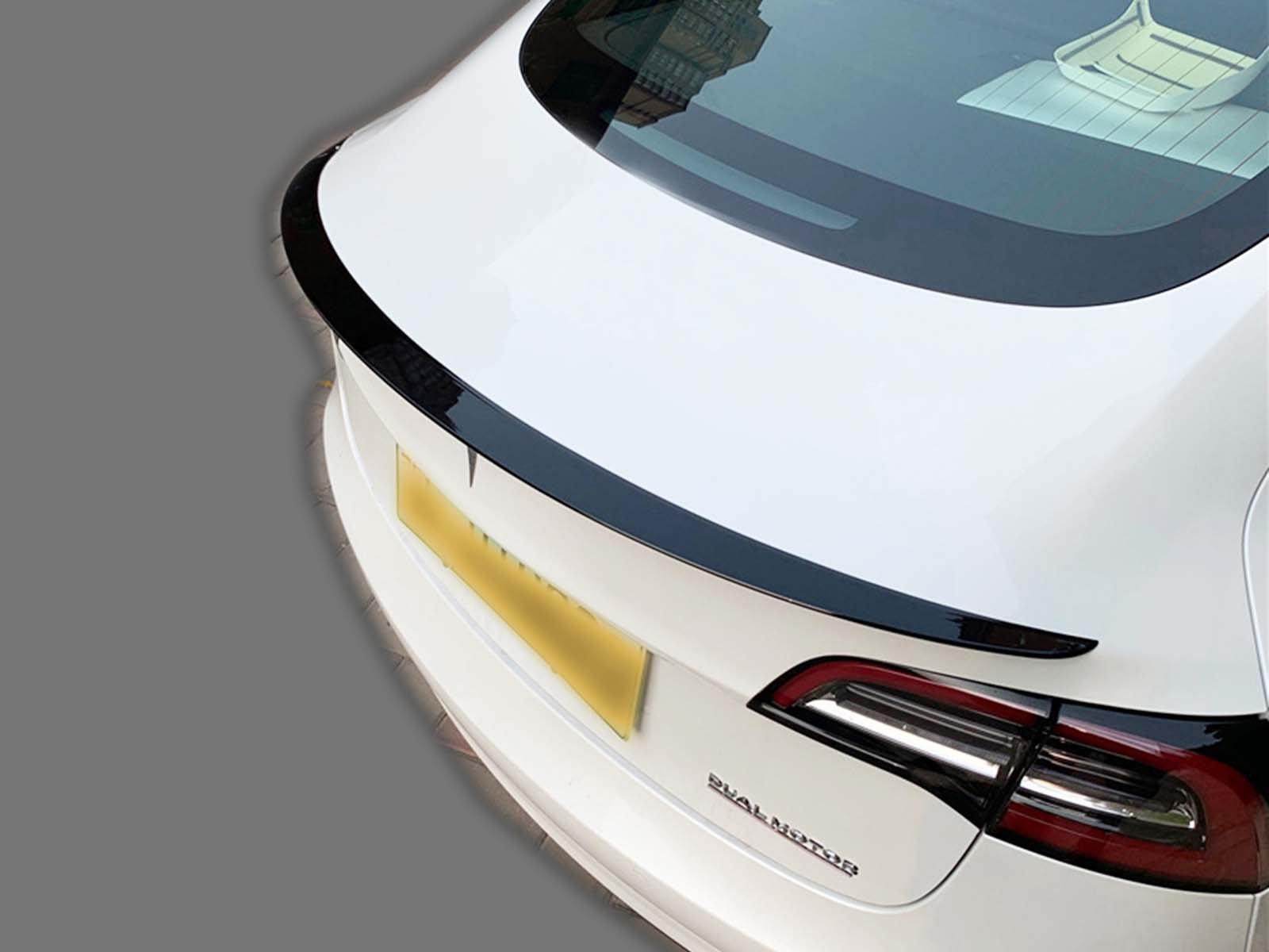 Model 3: Performance Tail Spoiler (ABS+coating) - Torque Alliance