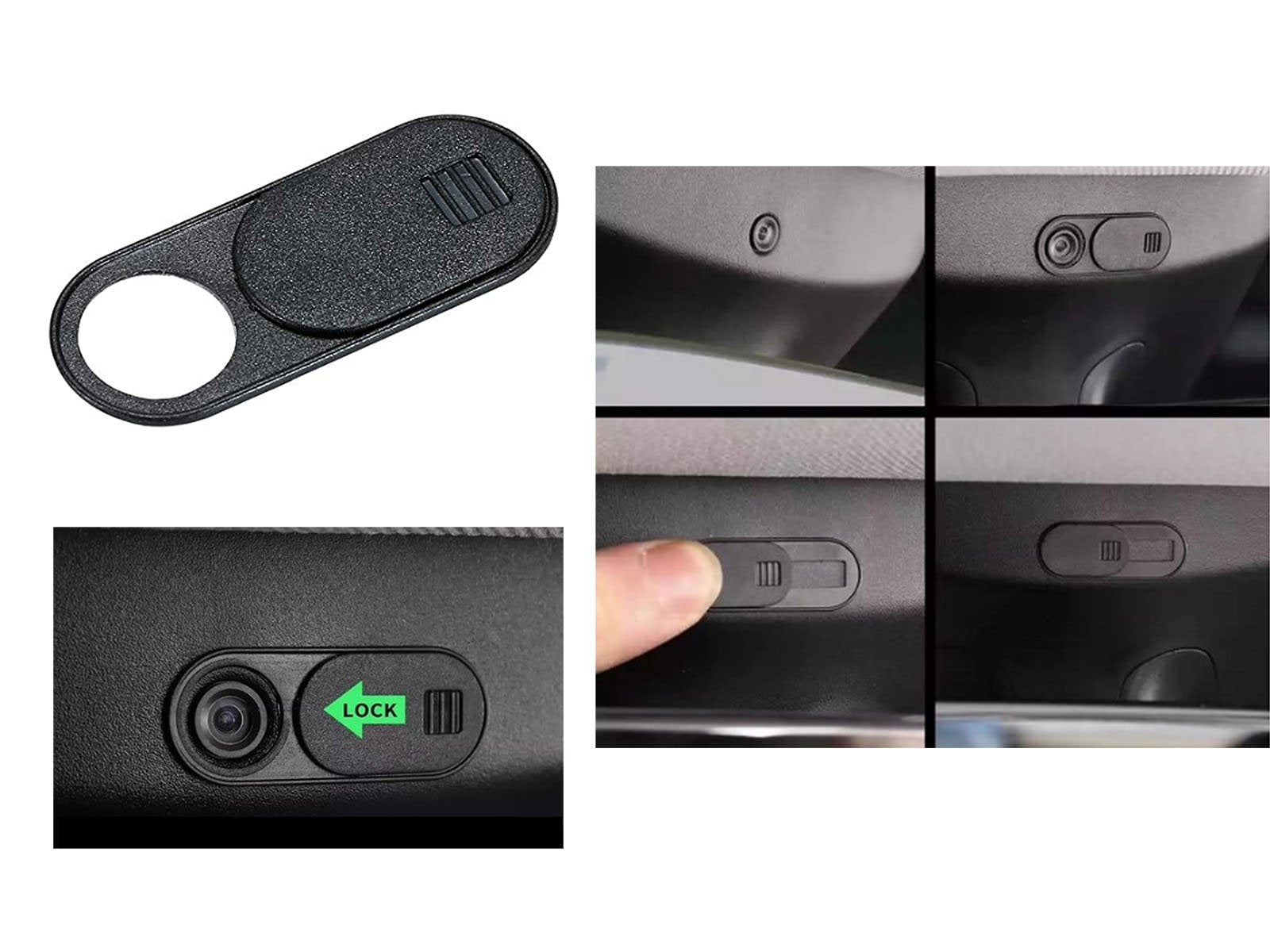 Model 3/S/X/Y: Privacy Cap for Interior Dashcam - Torque Alliance