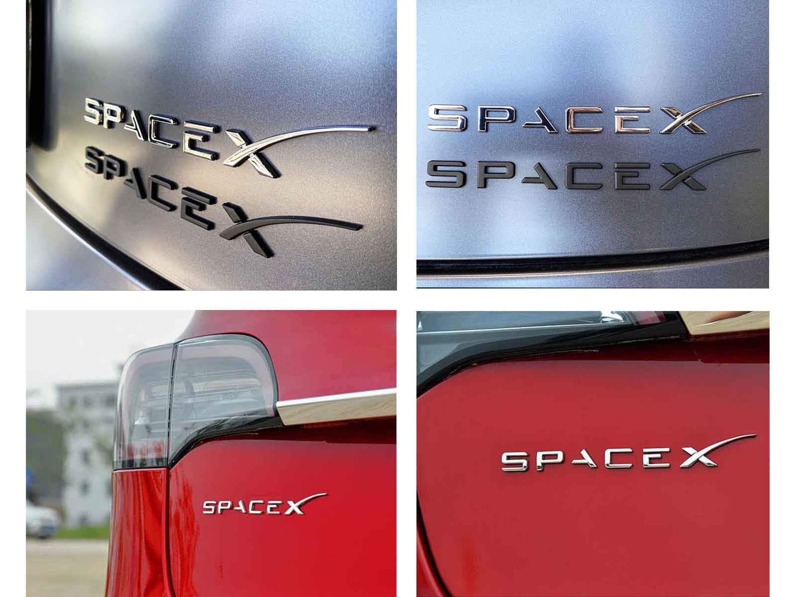 Model 3/S/X/Y: SpaceX Logo Decals - Torque Alliance