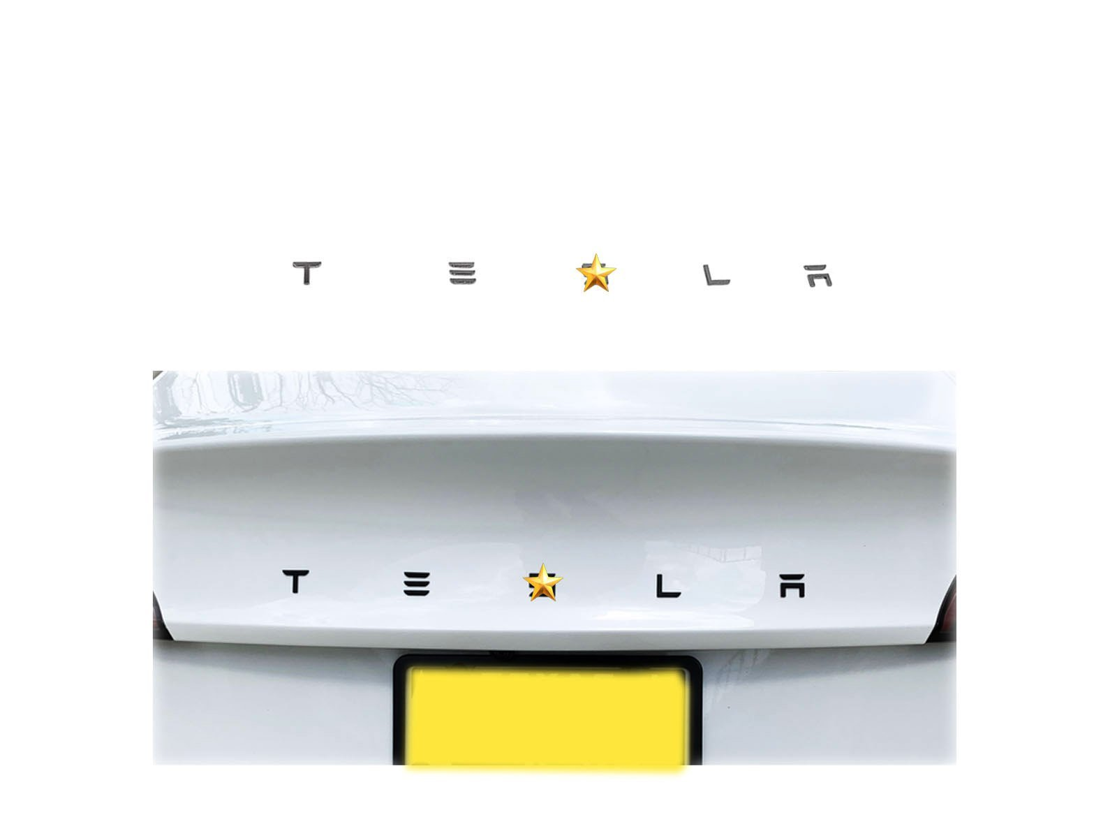 Model 3/S/X/Y: Tesla Text Logo Decals - Torque Alliance