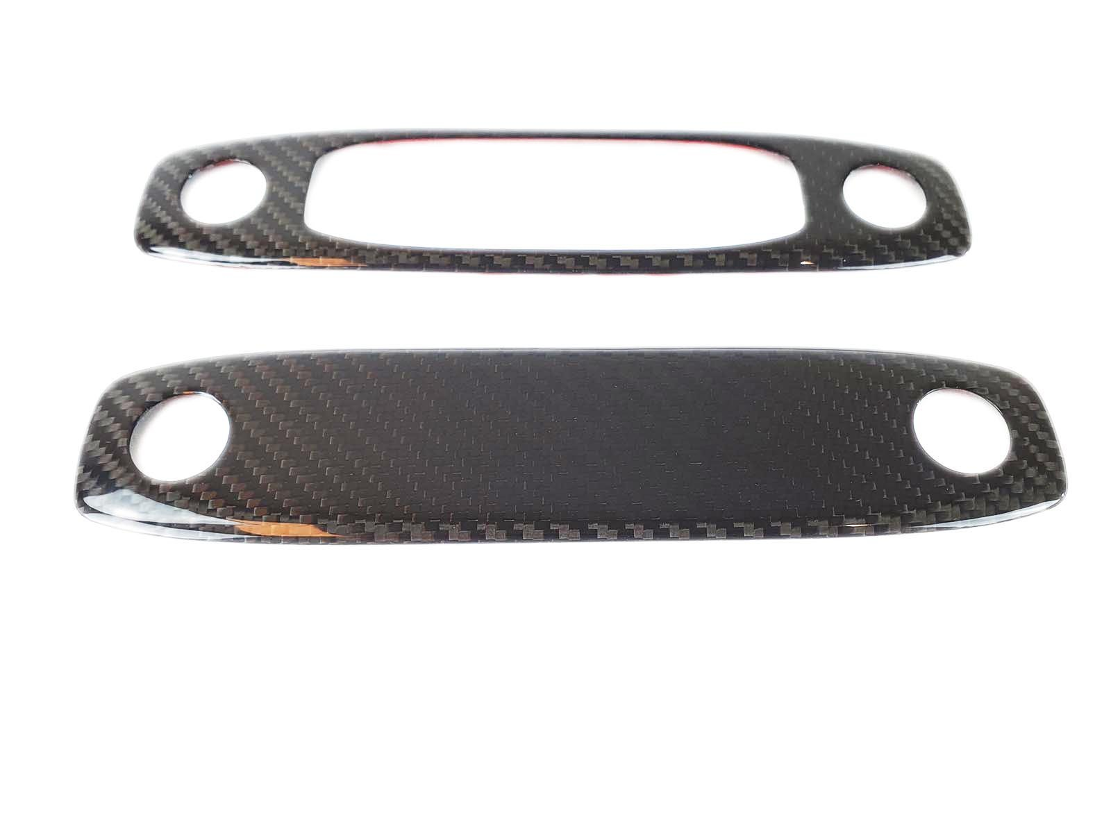 Model 3&Y: Reading Lamp Trim Set (Carbon Collection) - Torque Alliance