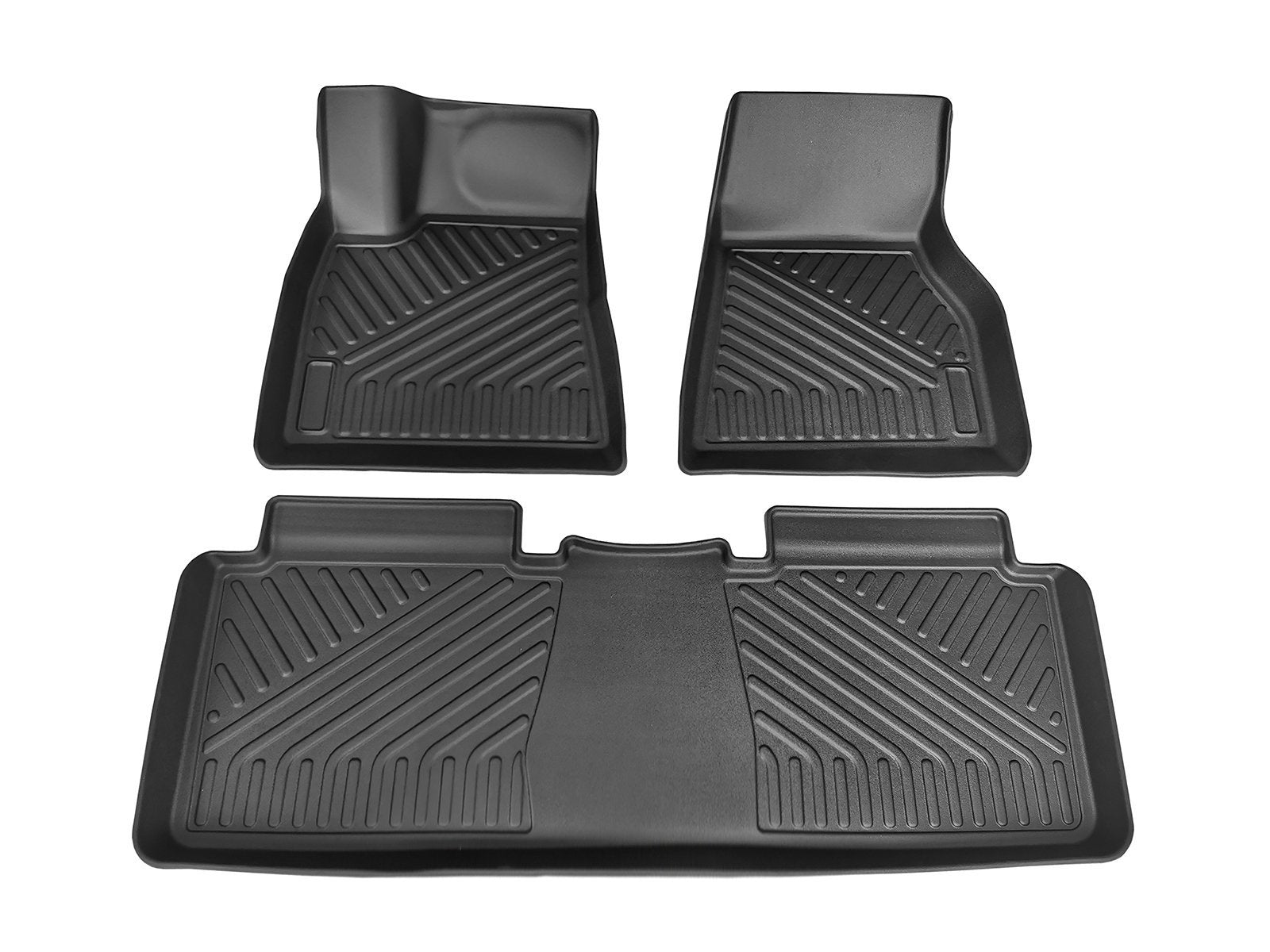 Model S: All-weather Interior Floor Mats (TPO, 3 Pieces) - Torque Alliance