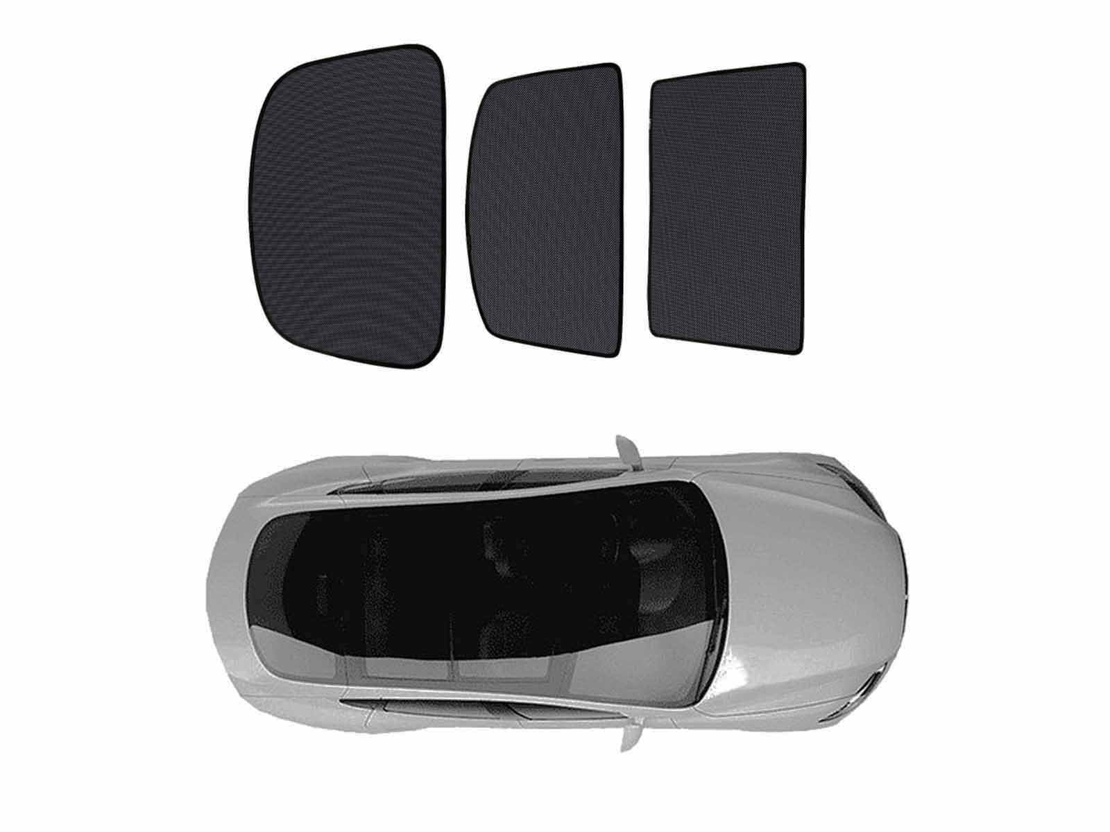 Model S: Sunshade for Solar Roof (3 pcs) - Torque Alliance