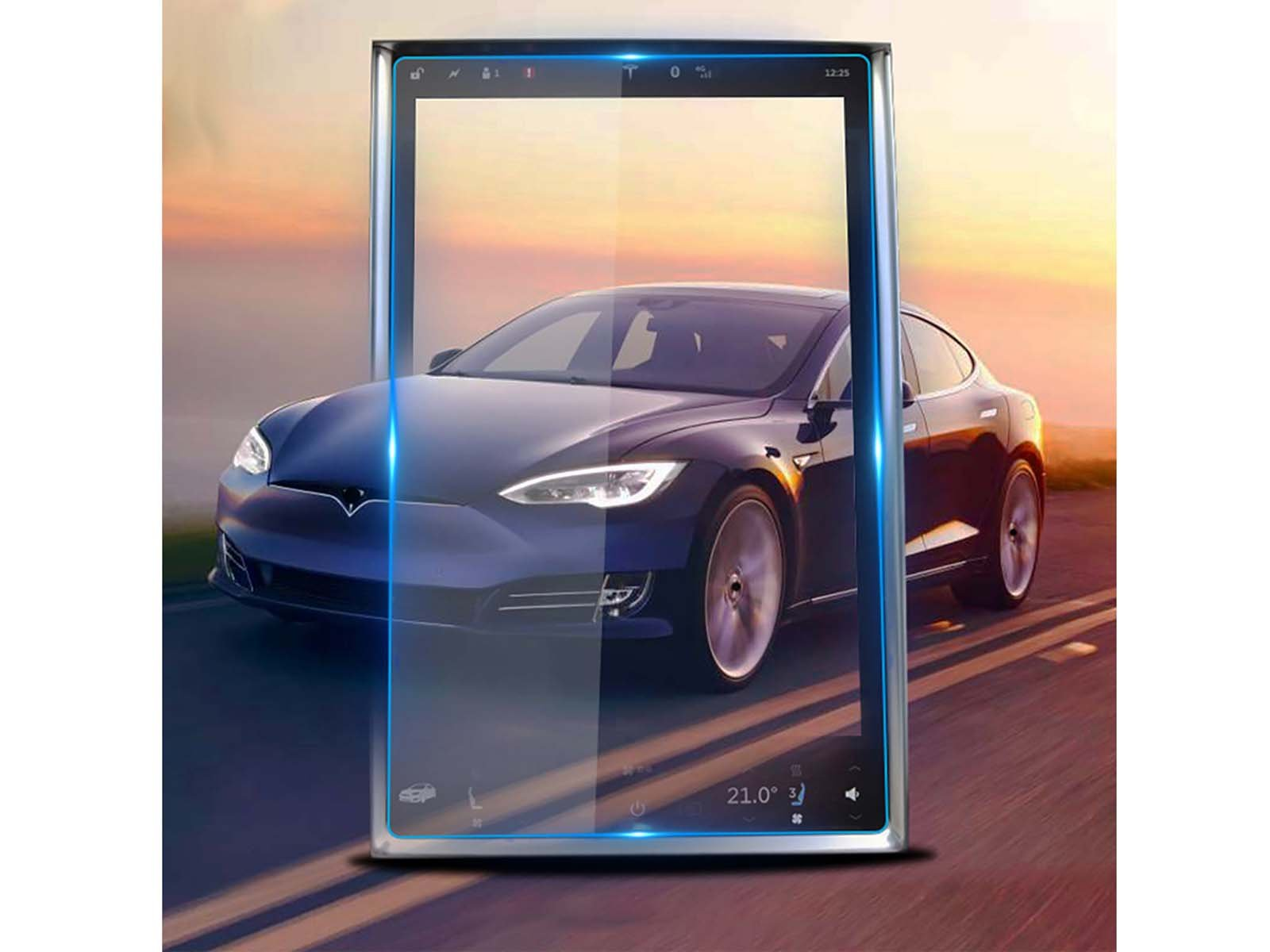 "Model S/X: Temper Glass 17"" Screen Protector - Torque Alliance"