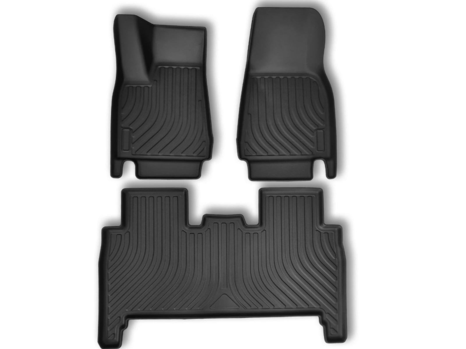 Model X: All-weather Interior Floor Mats (TPO, 3 Pieces) - Torque Alliance