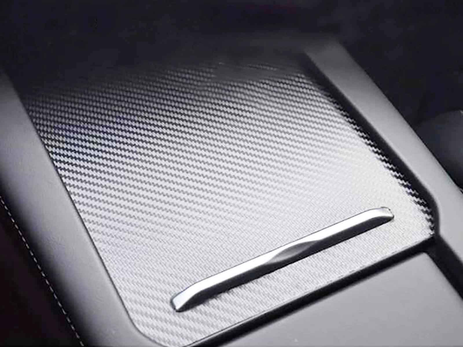 Model X/S: Middle Console Wrap (Carbon Look) - Torque Alliance