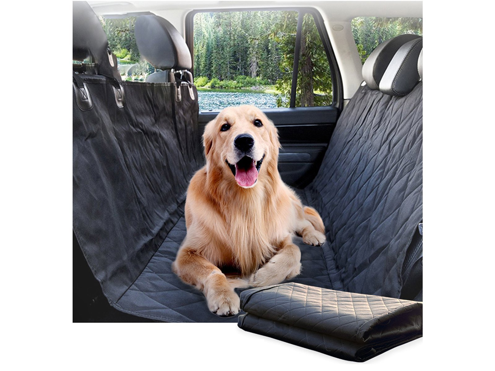 Universal: Back Seat Cover Protector for Pets - Torque Alliance