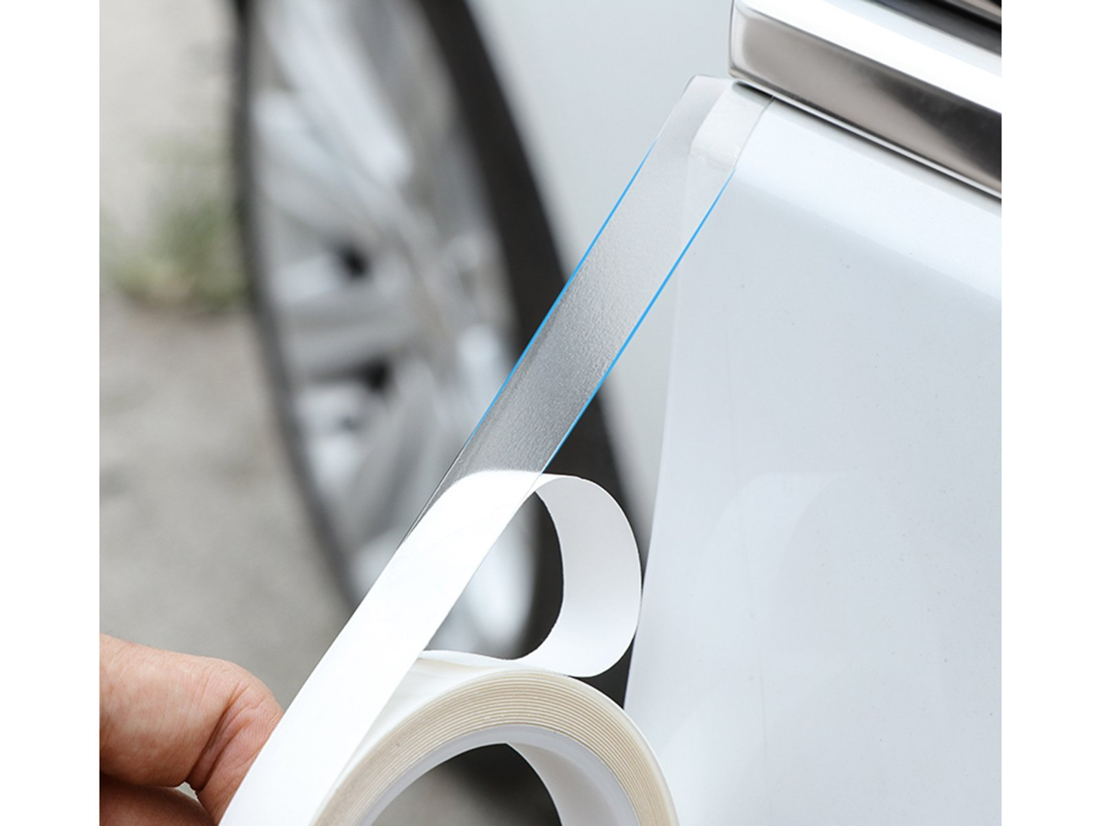 Universal: Invisible Door Edge Protector Strip - Torque Alliance