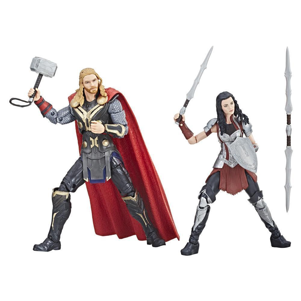Marvel Studios: The First Ten Years Thor: The Dark World Thor and Sif Figures