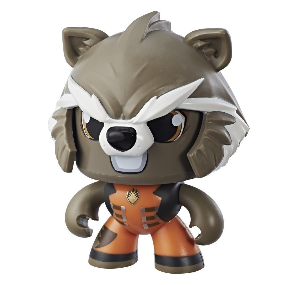 Marvel Mighty Muggs Rocket Raccoon #8 3.75-inch collectible figure with display case package