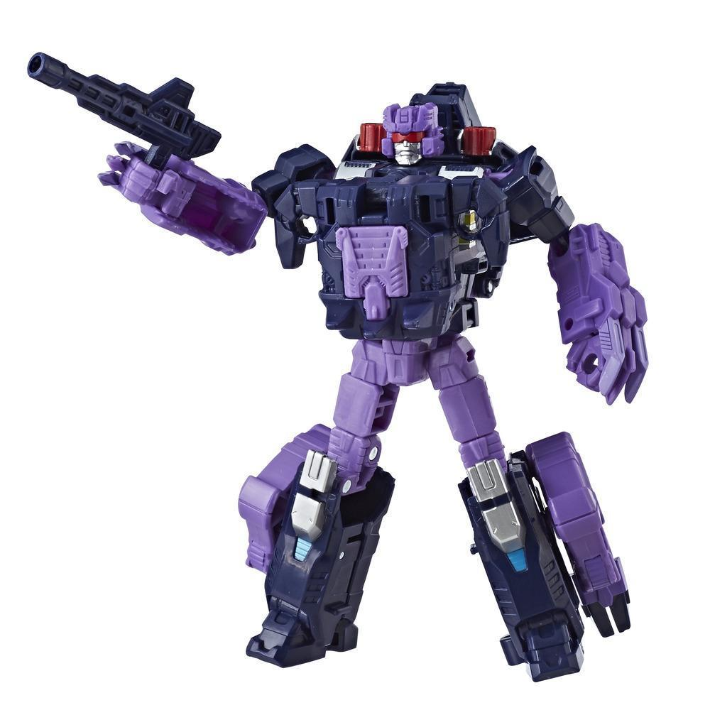 Transformers Generations Power of the Primes Deluxe Class Terrorcon Blot Figure Robot Mode