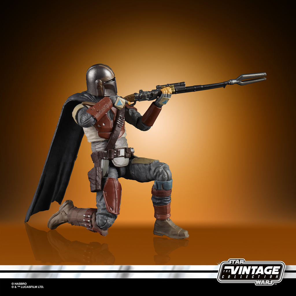 "Hasbro Star Wars E8086 The Mandalorian The Vintage Collection Figur 3,75/"" Neu"