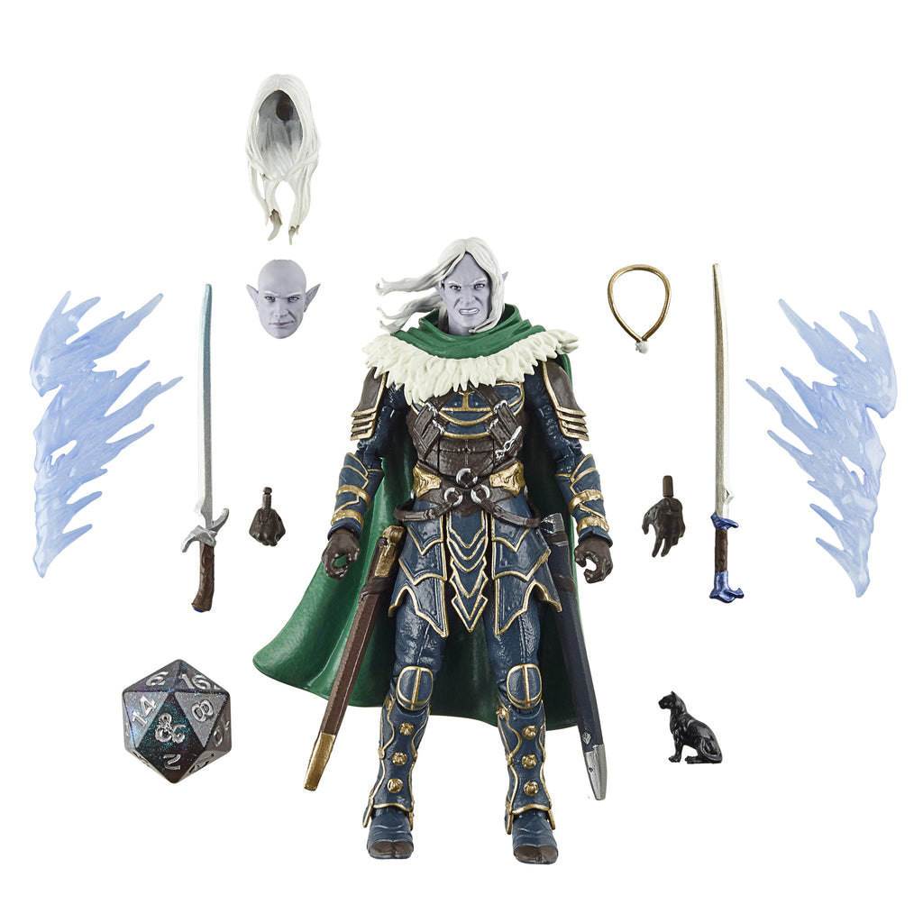 Dungeons & Dragons Forgotten Realms Drizzt & Guenhwyvar (Hasbro Pulse Exclusive)