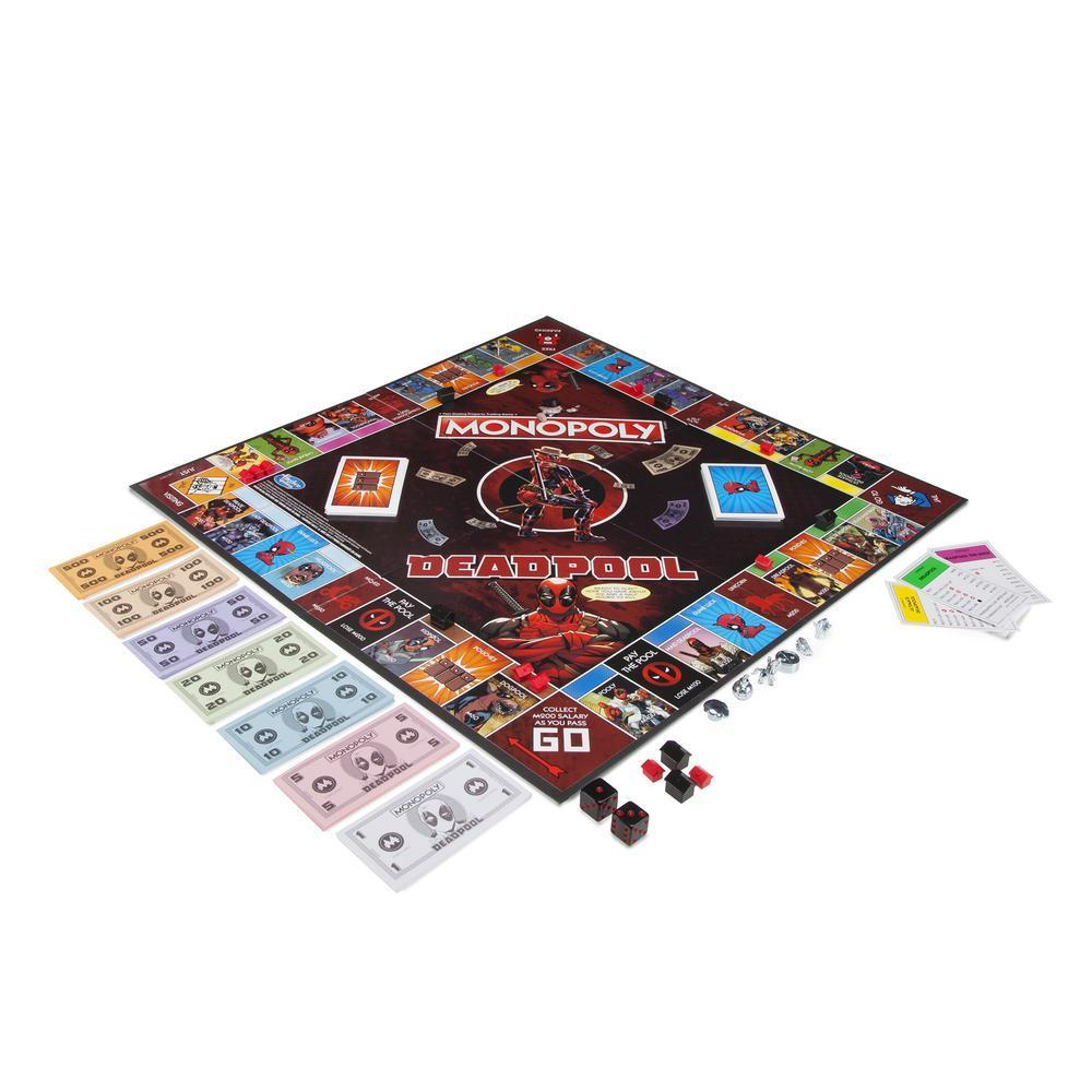 Monopoly Marvel Deadpool Edition Board Game