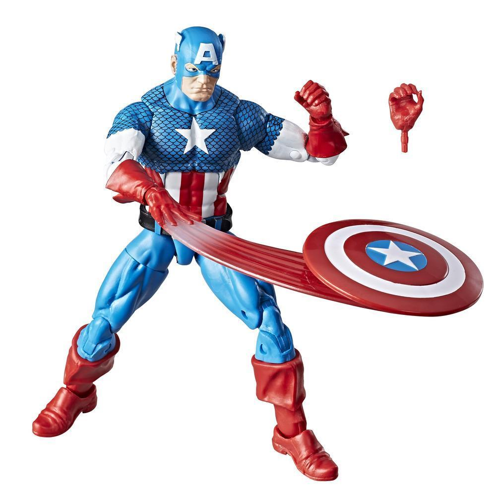 Marvel Retro Collection Captain America Figure With Accessories