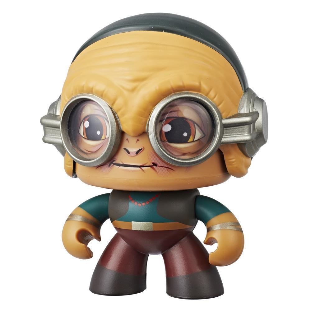 Star Wars Mighty Muggs Maz Kanata #15 3.75-inch collectible figure with display case package