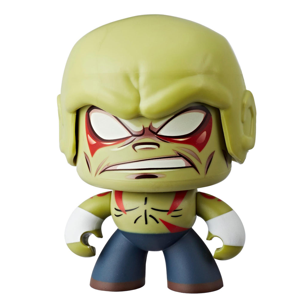 Marvel Mighty Muggs Drax #19 3.75-inch collectible figure with display case package