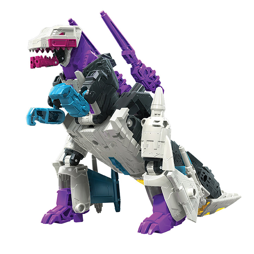 Transformers Generations War for Cybertron Earthrise Voyager WFC-E21 Decepticon Snapdragon Reptile Mode