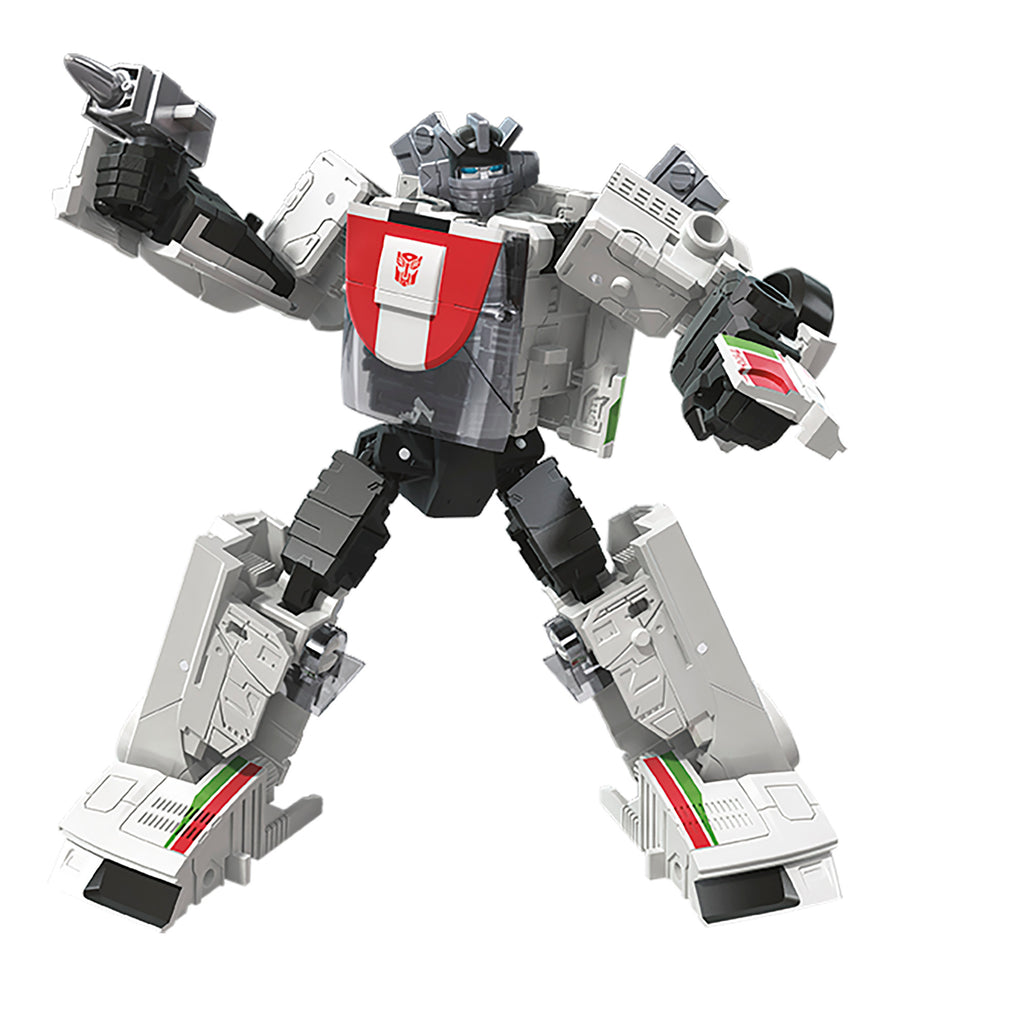 Transformers Generations War for Cybertron Deluxe WFC-E6 Wheeljack Robot Mode