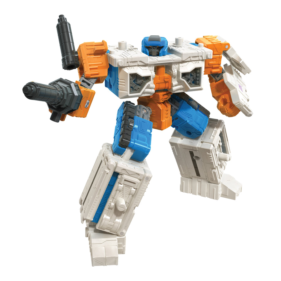 Transformers Generations War for Cybertron Deluxe WFC-E18 Airwave Modulator Figure