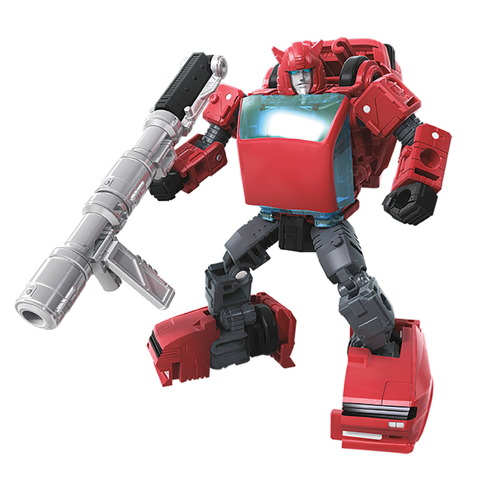 Transformers Generations War for Cybertron Deluxe WFC-E7 Cliffjumper Robot Mode